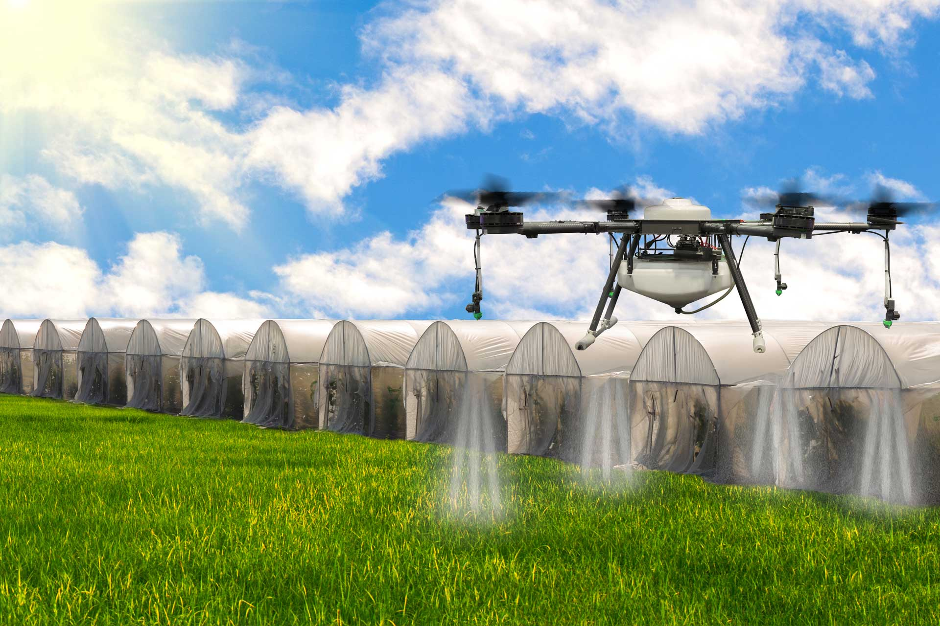 Crop Spraying Drones